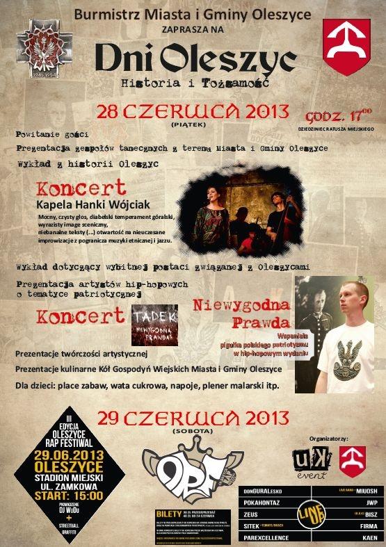 Dni Oleszyc 2013