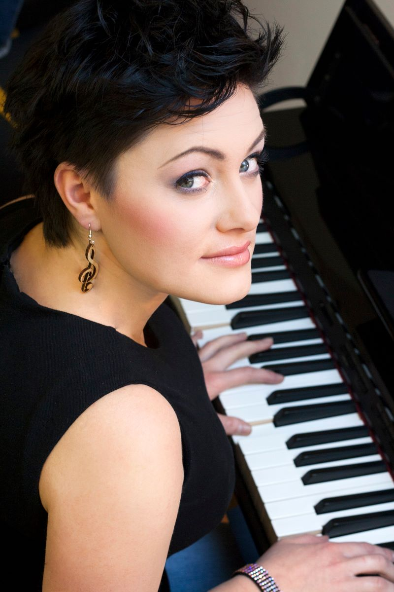 Magdalena Skawińska, założycielka Roztoczańskiego Festiwalu Muzycznego.