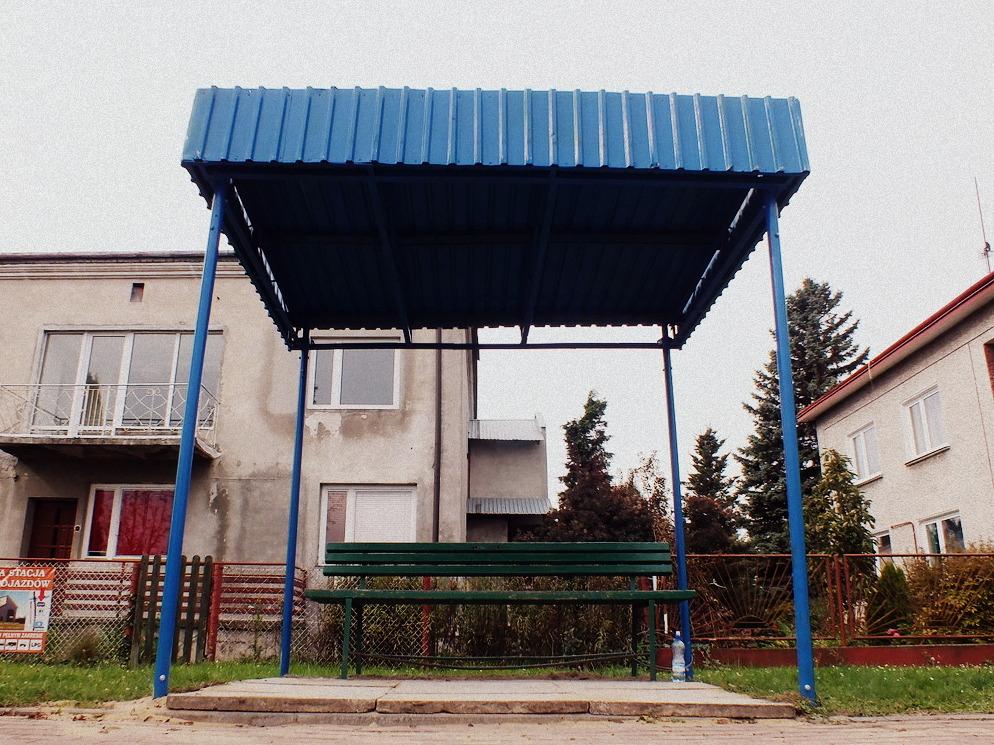 """""""Nowe przystanki"""" w Lubaczowie."""