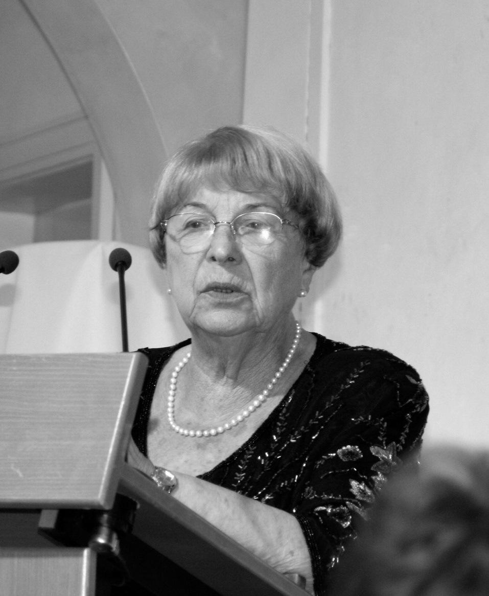 Ruth Zuther (1926 - 2015), fot. Dirk Zuther, tostedt.de.