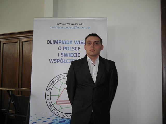 Paweł Hypiak, fot. LO Lubaczów