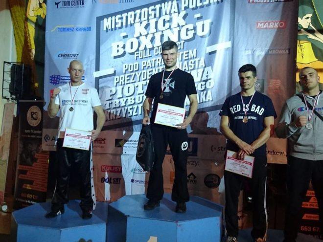Mateusz Kubiszyn obronił mistrzowski tytuł.