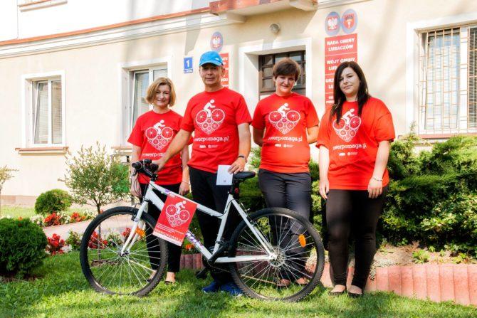 Drugi rower trafi do Domu Dziecka w Nowej Grobli.
